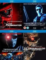 Терминатор / Терминатор 2 Судный день / Терминатор 3 Восстание машин / Терминатор 4 Да придет спаситель (4 Blu-ray)* на Blu-ray