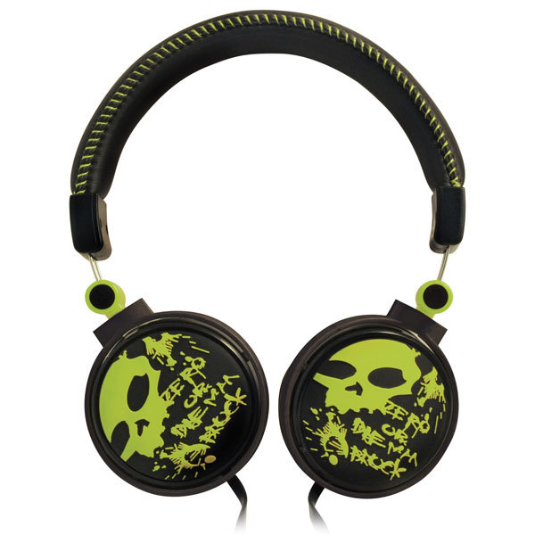 Наушники RITMIX RH-560 Skeleton Green