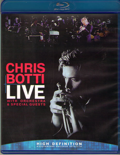 Chris Botti Live With orchestra and special Guests (Blu-ray)* на Blu-ray