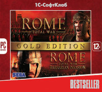 Bestseller Rome Total War Gold Edition (PC DVD)