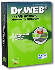 Dr. Web для Windows - Антивирус на 24 месяца, на 1 ПК (PC CD)