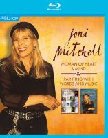 Joni Mitchell Woman of Heart and Mind / Painting With Words and Music (Blu-ray)