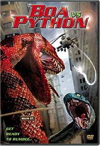 Анаконда против питона на DVD