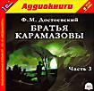 Ф. М. Достоевский.Братья Карамазовы. Часть 3 (аудиокнига MP3)