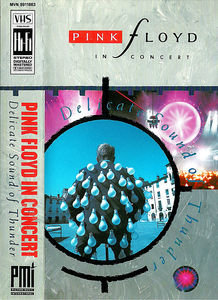 Pink Floyd - Delicate Sound of Thunder на DVD