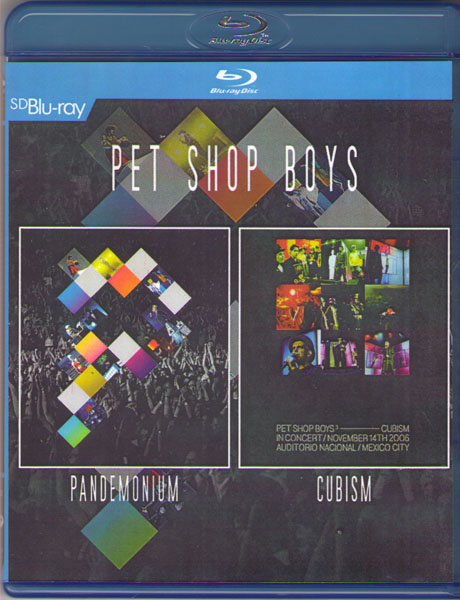 Pet Shop Boys (Pandemonium / Cubism) (Blu-ray) на Blu-ray
