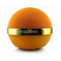 Спикер Enzatec SP101OG оранжевый, портативный, 2W, USB/3.5мм джек, аккум