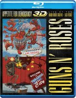 Guns N Roses Appetite for Democracy  Live at the Hard Rock Casino Las Vegas 3D+2D (Blu-ray 50GB)