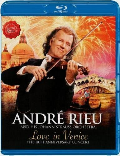 Andre Rieu and his Johann Strauss Orchestra Love In Venice (Blu-ray)* на Blu-ray