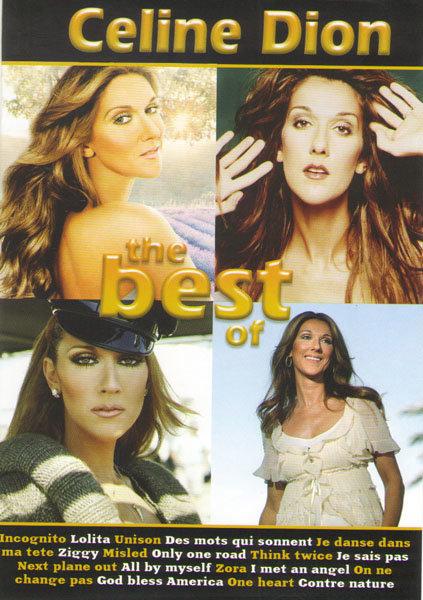 Celine Dion The Best / Celine Dion Sur les plaines / Celine Dion A new day Live in Las Vegas) на DVD