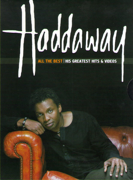 Haddaway All the best His Greatest Hits & Video на DVD