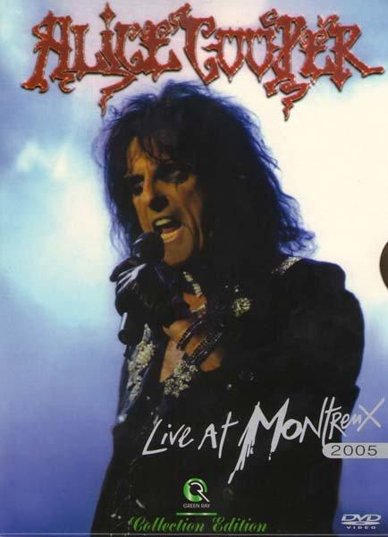 Alice Cooper Live in montreux на DVD