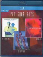 Pet Shop Boys (Performance / Somewhere / Montage) (Blu-ray)