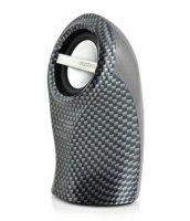Спикер Enzatec SP102SL серебрянный, настольный, 2,5W, USB/3.5мм джек, аккум