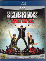 Scorpions Live Get Your Sting Blackout 3D (Blu-ray)