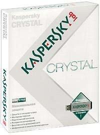 Kaspersky Crystal (Антивирус Касперского) (на 2 ПК) Лицензия на 1 год  / Флешка в подарок (PC CD)