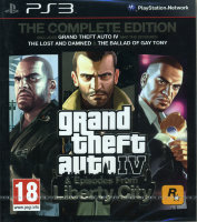 Grand Theft Auto IV. Complete Edition (PS3)