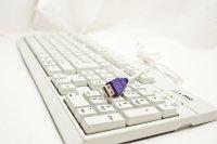 Клавиатура L-PRO KB-201U USB Белая