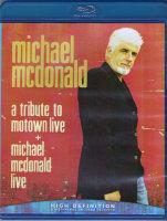 Michael McDonald Live A Tribute to Motown Live (Blu-ray)
