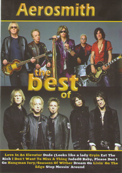 Aerosmith The best of (Aerosmith Private Show / Aerosmith Big Ones (You Can Look At) / Aerosmith  You Gotta Move) на DVD