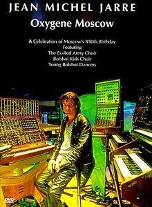 Jean Michel Jarre. Oxygene Moscow на DVD