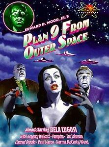 План 9 из открытого космоса   на DVD
