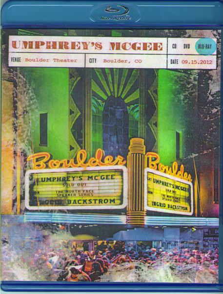 Umphreys McGee Live at Boulder Theater (Blu-ray) на Blu-ray