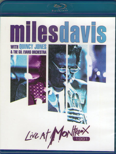 Miles Davis with Quincy Jones and  the Gil Evans Orchestra Live at Montreux (Blu-ray)* на Blu-ray