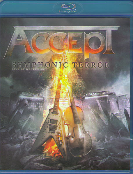 Accept Symphonic Terror Live at Wacken 2017 (Blu-Ray)* на Blu-ray