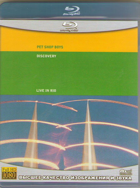 Pet Shop Boys Discovery (Live in Rio) (Blu-ray)* на Blu-ray