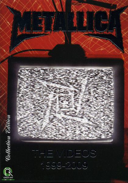 Metallica The videos  1989 - 2009 на DVD