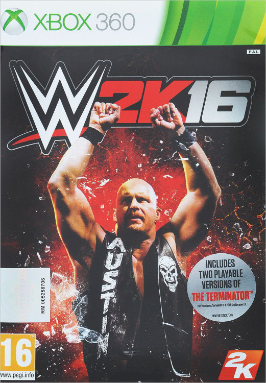 WWE 2K16 (Xbox 360)