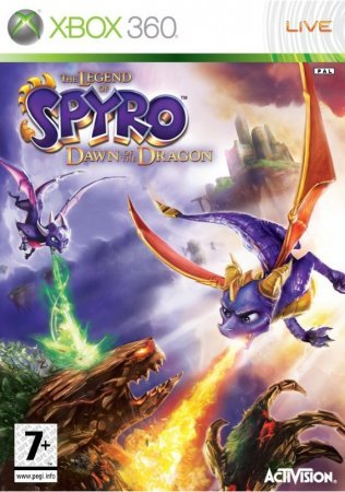The Legend of Spyro Dawn of the Dragon (Xbox 360)