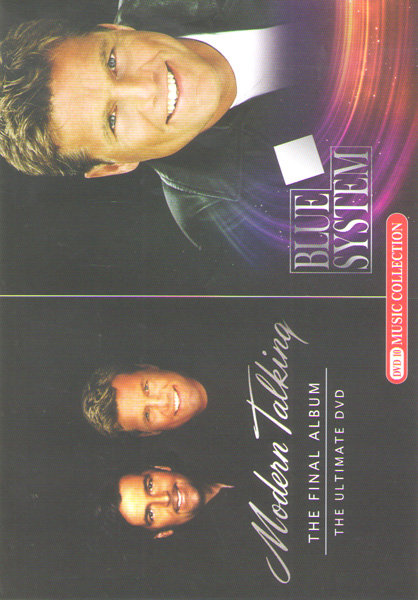 Modern talking The final album The ultimate dvd / Blue system на DVD