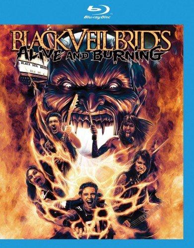 Black Veil Brides Alive and Burning (Blu-ray)* на Blu-ray