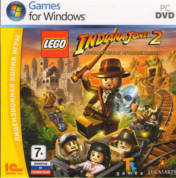 Lego Indiana Jones 2 Приключение продолжается (PC DVD)