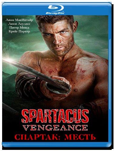 Спартак Месть (10 серий) (2 Blu-ray)