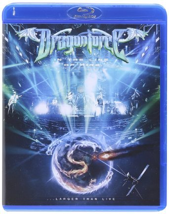 Dragonforce In the Line of Fire Larger Than Live (Blu-ray)* на Blu-ray