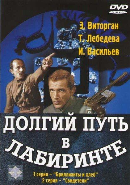 Долгий путь в лабиринте (3 серии) (2 DVD) на DVD