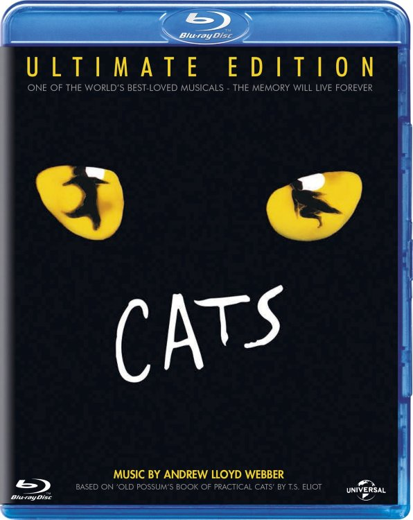 CATS Ultimate Edition by AL Webber (Кошки) (Blu-ray)