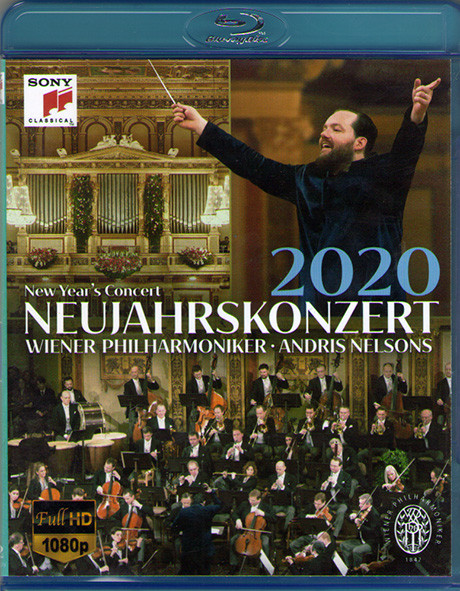 Neujahrskonzert der Wiener Philharmoniker Andris Nelsons 2020 (Blu-ray)* на Blu-ray