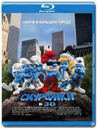 Смурфики 3D+2D (Blu-ray 50GB) на Blu-ray