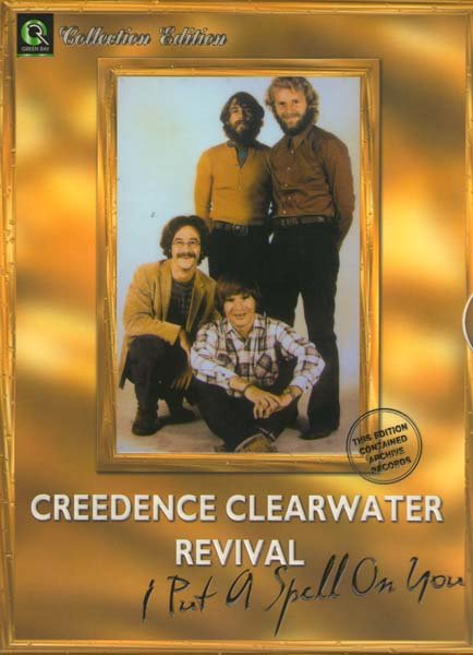 CREEDENCE I put a spell on you  ( Archive records )  на DVD