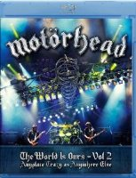 Motorhead The World Is Ours Vol 2 Anyplace Crazy as Anywhere Else (Blu-ray)