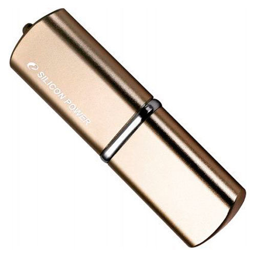 Флеш-карта Flash Drive 4 GB USB 2.0 Silicon Power Luxmini 720 Bronze металл