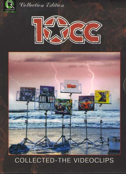 10CC Collected the Videoclips  на DVD