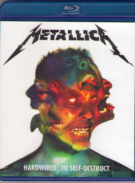 Metallica Hardwired to self destruct  (Blu-ray)*