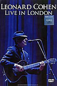Leonard Cohen Live In London на DVD