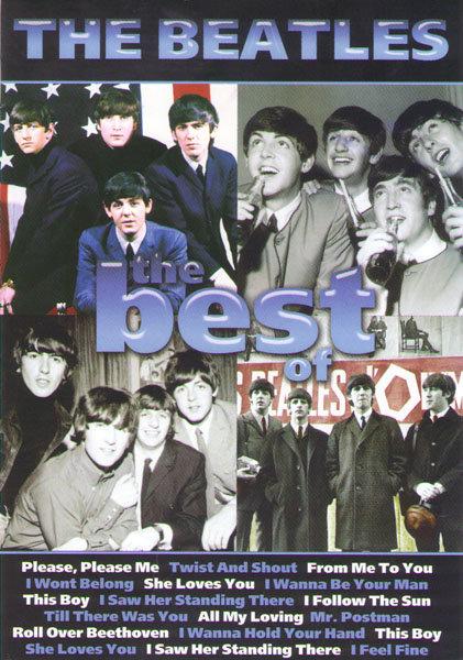 The Beatles The best of (94 песни / Live at shea stadium / Длинная извилистая дорога (5 серий)) на DVD