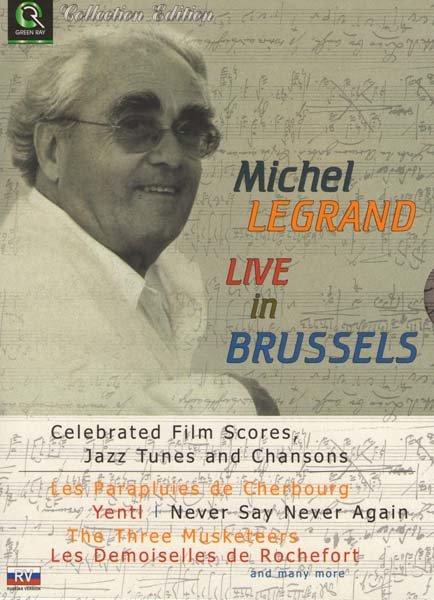 Michel Legrand Live in Brussel             на DVD